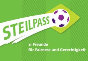 Logo der Aktion Steilpass von Adveniat, Bild: aktion-steilpass.de