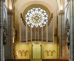 Die Kuhn-Orgel im Osnabrücker Dom, Bild: Bistum Osnabrück