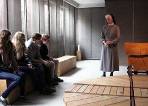 Jugendliche in der Gedenkstätte Esterwegen, Bild: privat