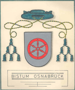 Wappen Bistum Osnabrück, Bild: Bistum Osnabrück