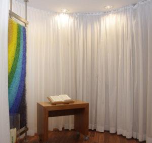 Raum der Stille im Bremer Klinikum Links der Weser (Bild: kirchebote.de)