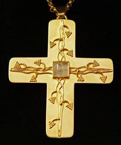 Das Brustkreuz von Johannes Wübbe (Bild: Bistum Osnabrück)