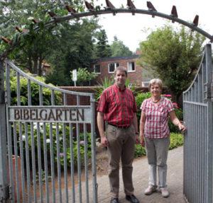 Der Eingang zum Bibelgarten in Werlte, Bild: kirchebote.de