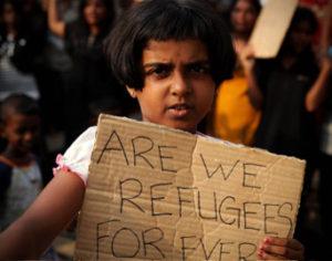 Flüchtlingskind in Indonesien (Bild: iStockphoto.com, EdStock)