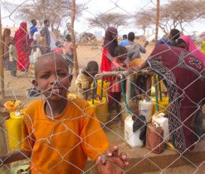 Flüchtlingskind in Dadaab, Somalia (Bild: iStockphoto.com, sadikgulec)