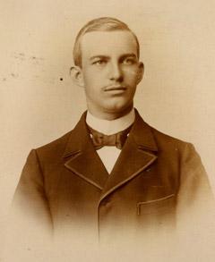 Wilhelm Berning als Student (Bild: Diözesanarchiv)