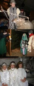 Krippenspiel St. Josef im Vosseberg, Bilder: privat