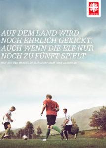 Ein Motiv der Caritas Jahreskampagne 2015, Bild: Deutscher Caritasverband/Christian Schoppe