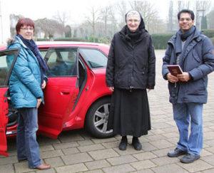 Fahrdienst für Pater Shibu, Bild: kirchenbote.de