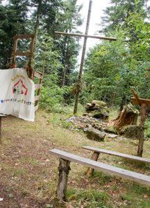 Ein Gottesdienst auf dem Zeltlager hat eine ganz besondere Atmosphäre, Bild: Daniel Gerber