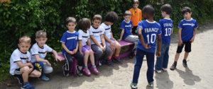 Gespannte Erwartung vor dem Fußballspiel Deutschland gegen Frankreich (Bild: Daniel Gerber)