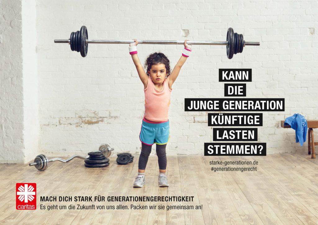Mach dich stark für Generationengerechtigkeit