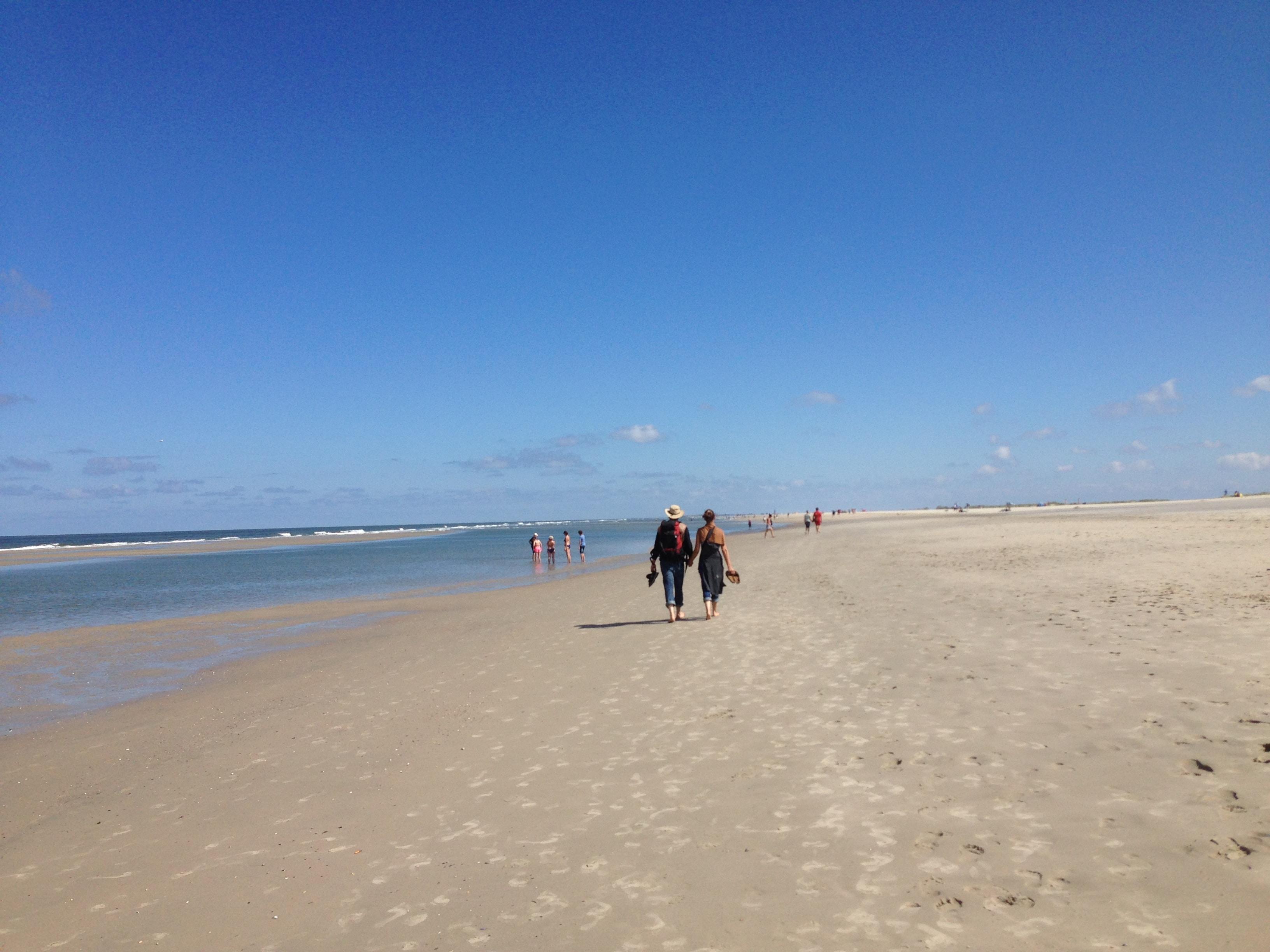 Menschen am Strand