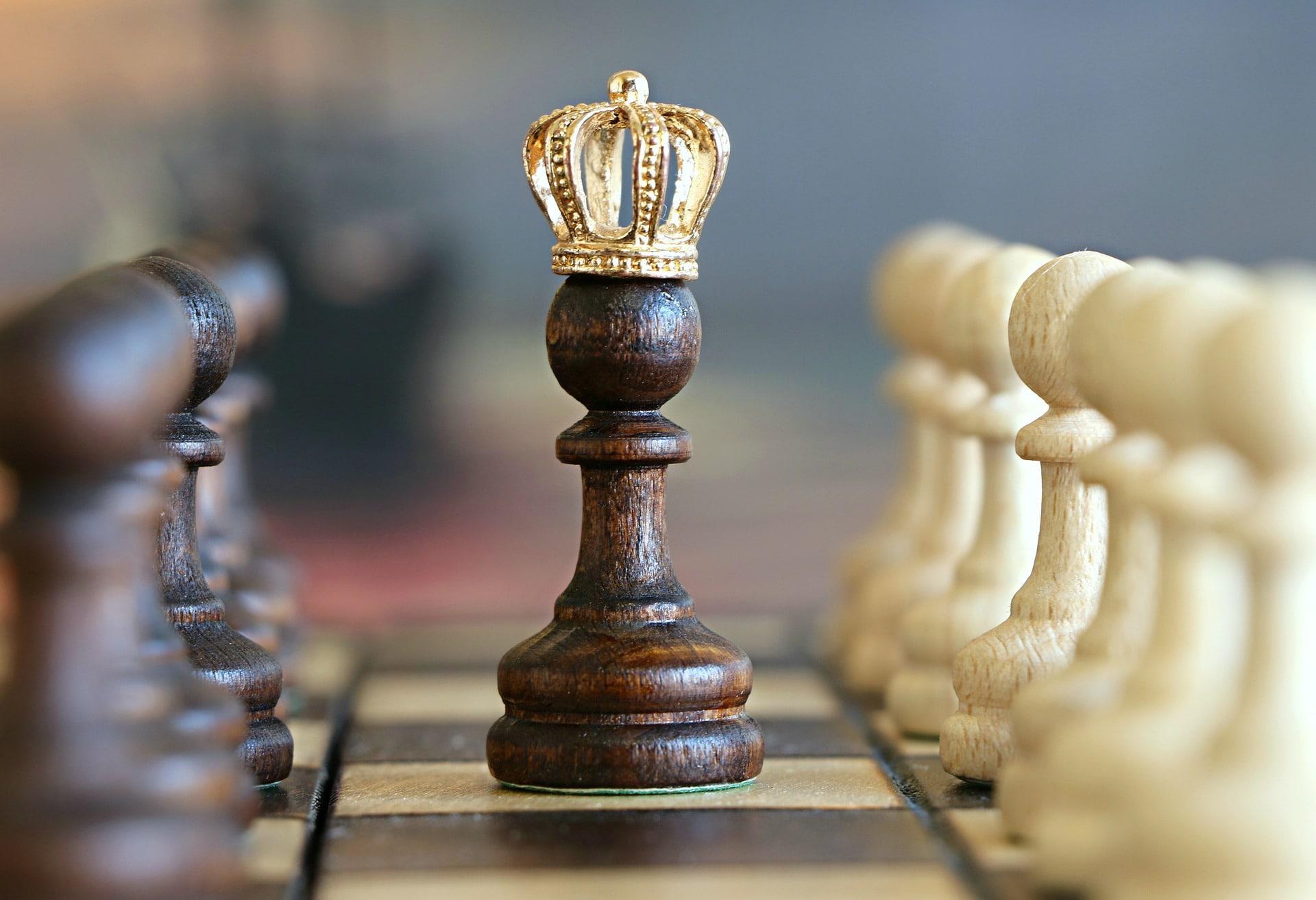 Schachfigur König