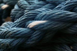 Nahaufnahme eines Knotens