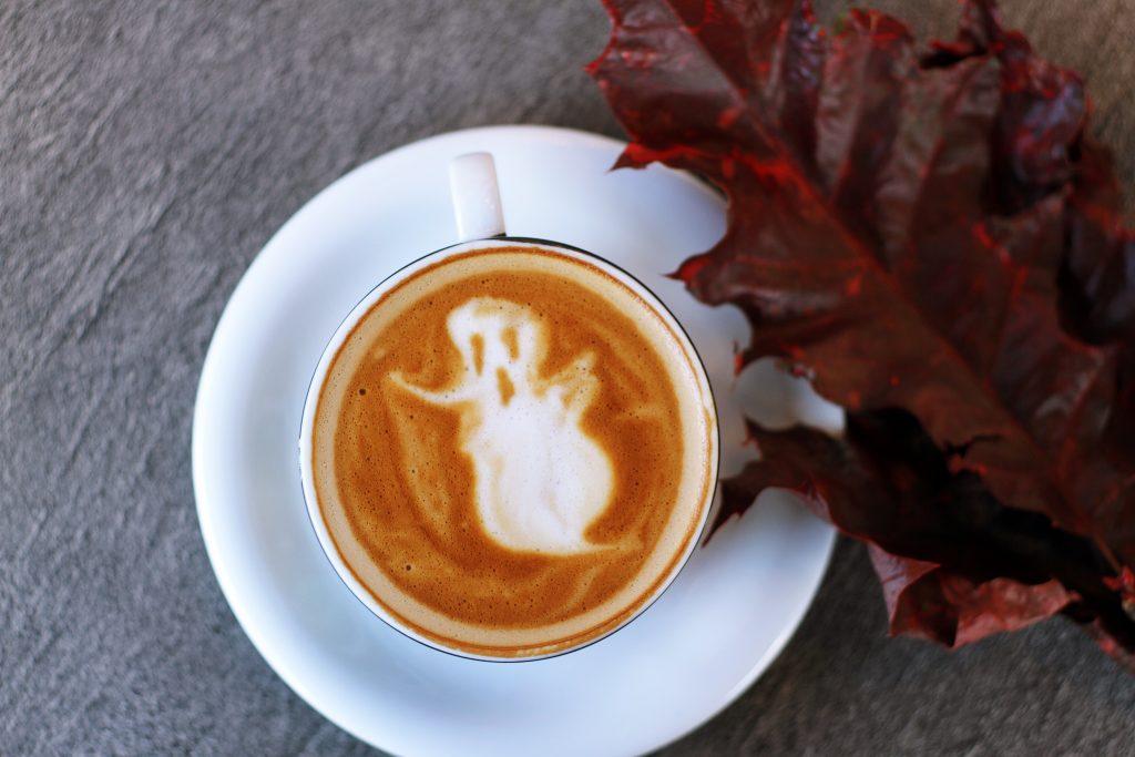 Cappuccino mit Schaum