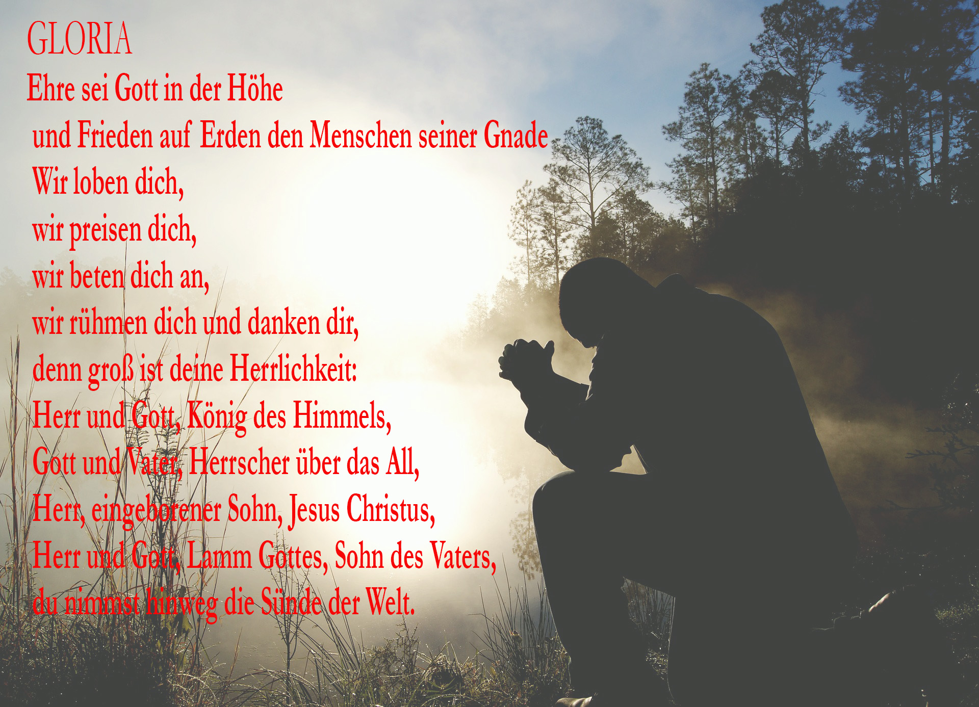 Gloria Gebet