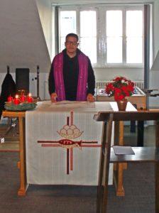 Pastor Frank Kribber