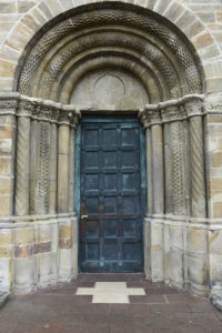 Die Heilige Pforte der Barmherzigkeit am Osnabrücker Dom