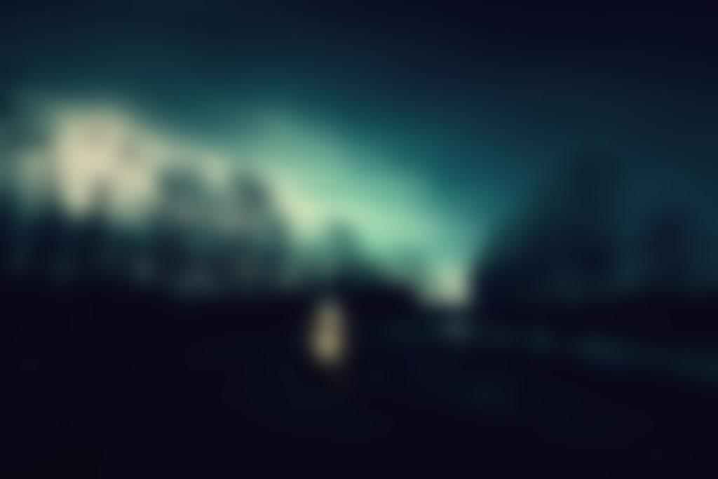 verschwommene Landschaft