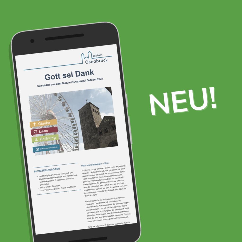 Newsletter Bistum Osnabrück