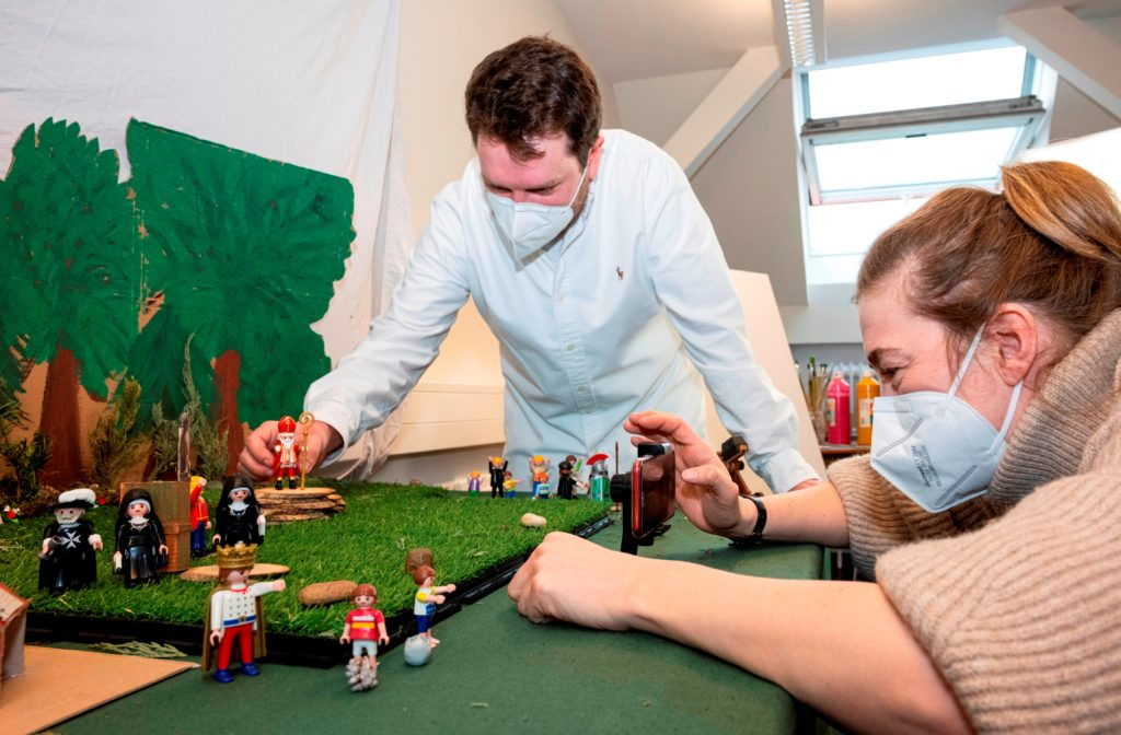 Videodreh mit Playmobil