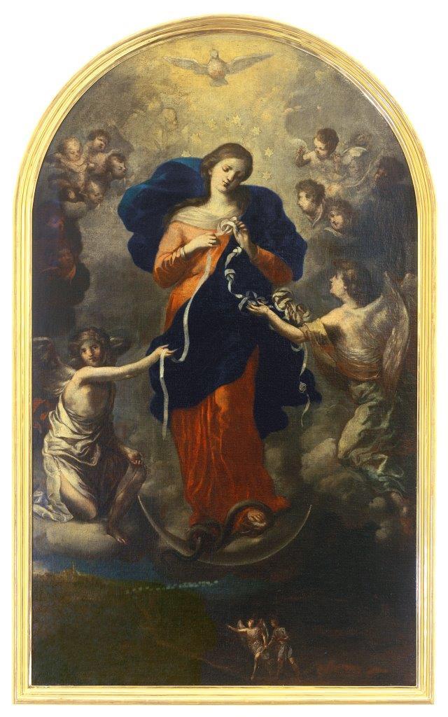 Die Madonna als Knotenlöserin aus St. Peter am Perlach in Augsburg