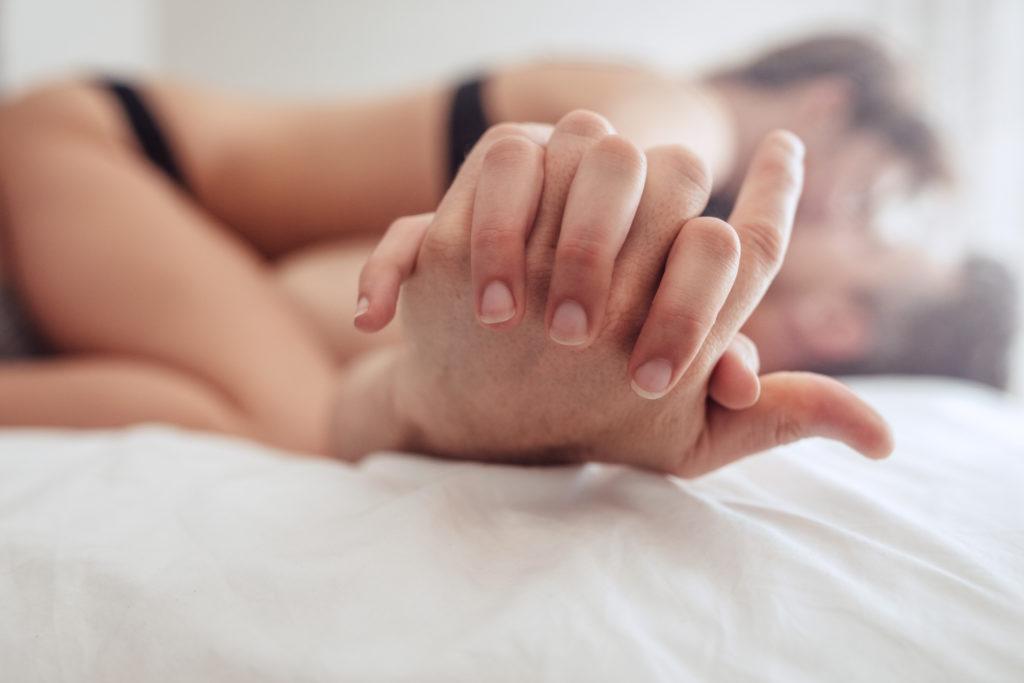 Pärchen im Bett