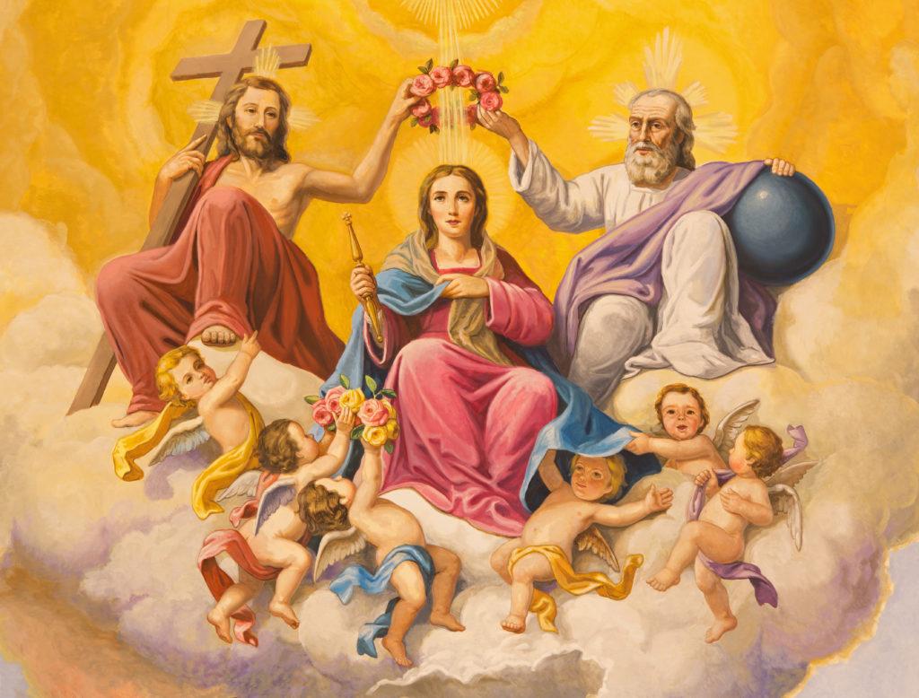Gemälde von Maria