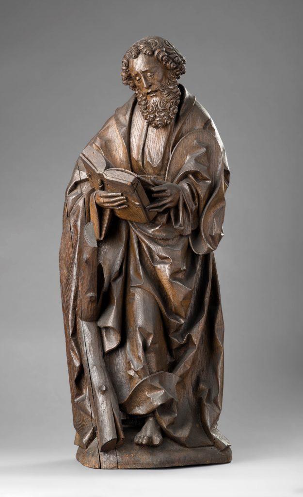 Statue des heiligen Andreas aus dem Diözesanmuseum Osnabrück