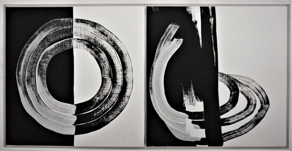 """Kunstwerk """"Polarität"""" von Saskia Averdieck"""
