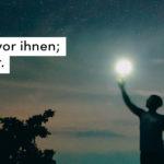 Nachthimmel, Sterne, Mond