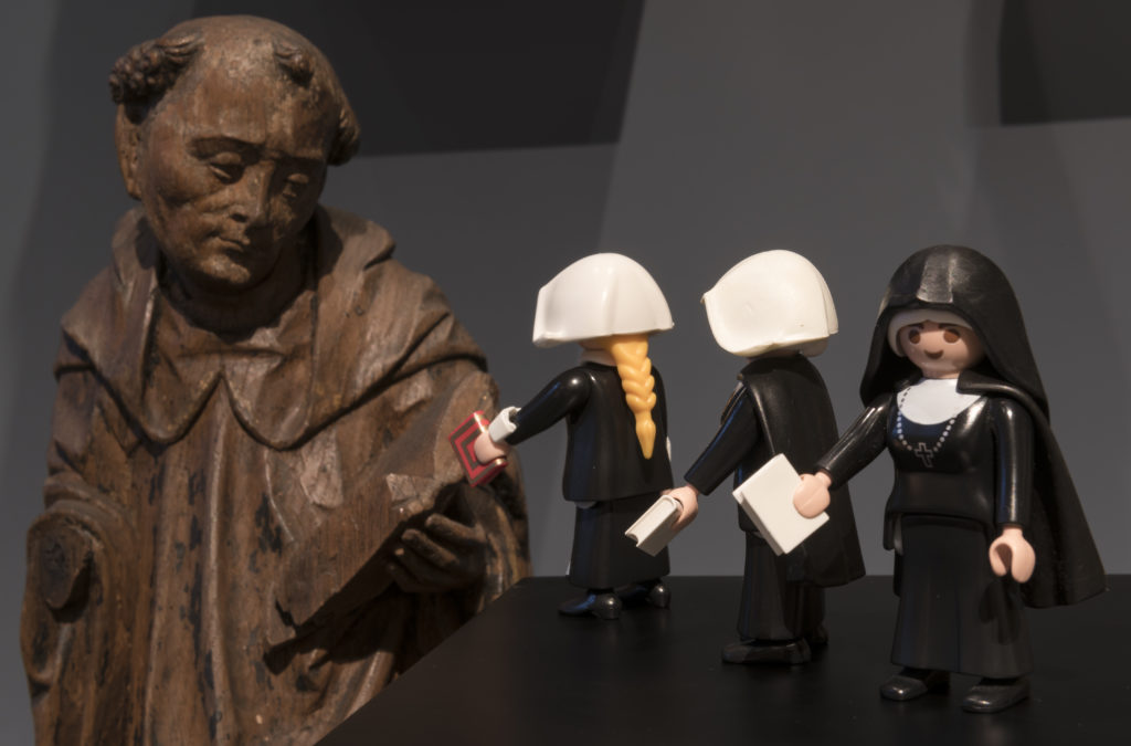 Playmobil-Figuren im Diözesanmuseum
