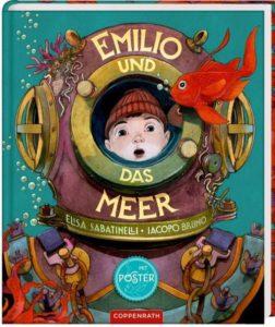 """Cover """"Emilio und das Meer"""" von Elisa Sabatinelli und Iacopo Bruno"""