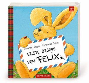 """Cover """"Erste Briefe von Felix"""" von Anette Langen und Constanze Droop"""