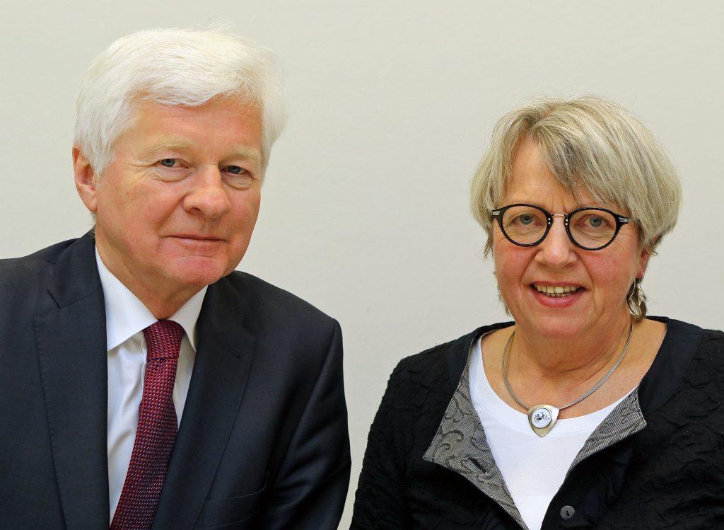 Neue Ansprechpartner für Missbrauchsfälle Antonius Fahnemann Irmgard Witschen-Hegge