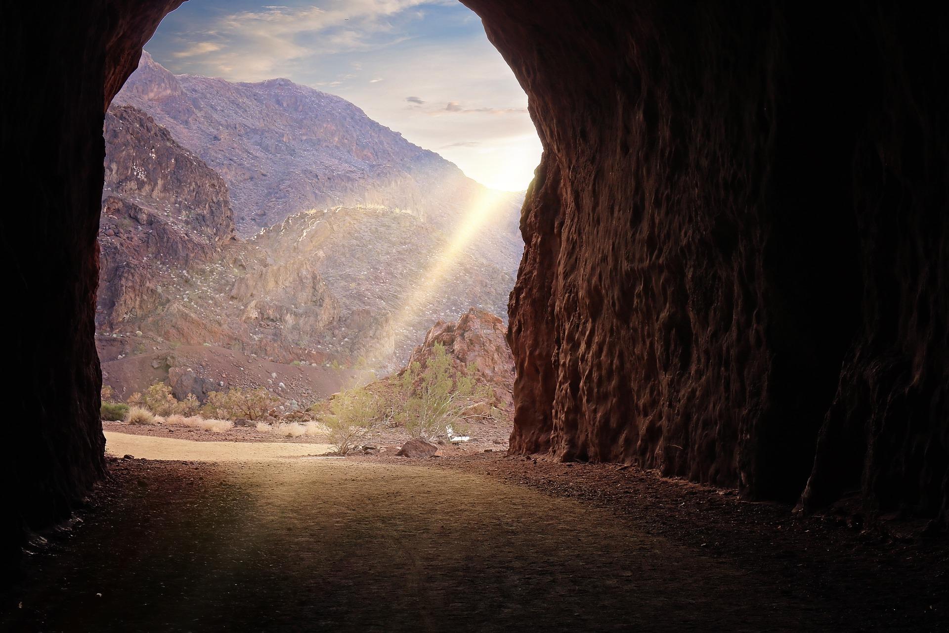 Lichtblick nach Tunnel