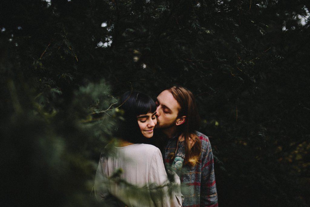 Parr küsst sich