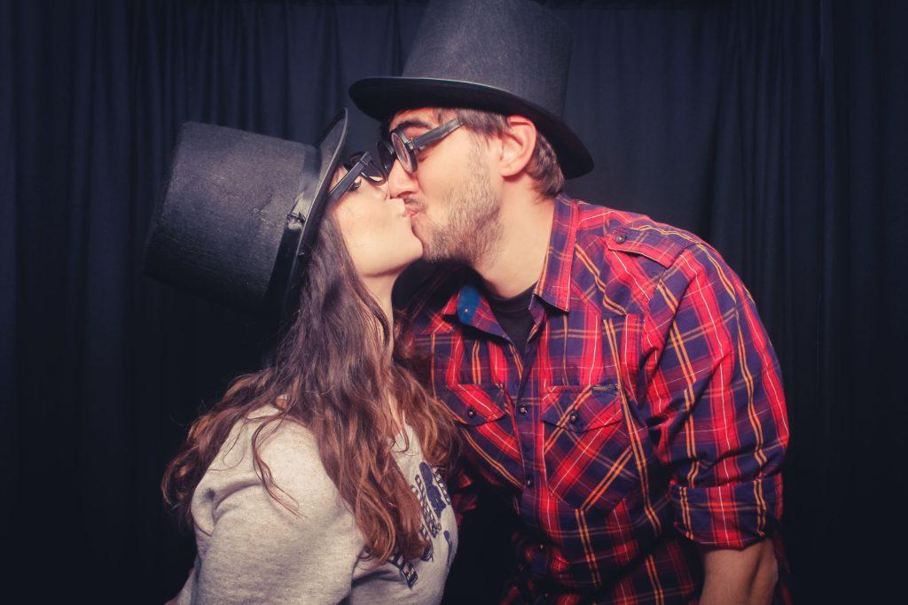 Küssen erwünscht!