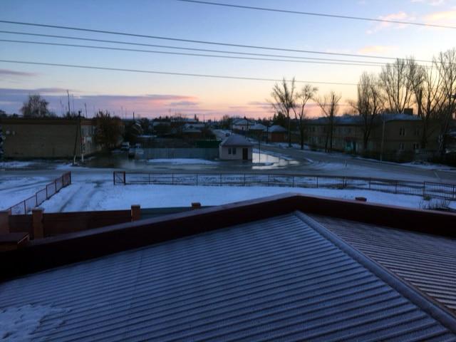 Winter in Russland