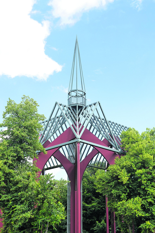 Nachbildung einer Kirche