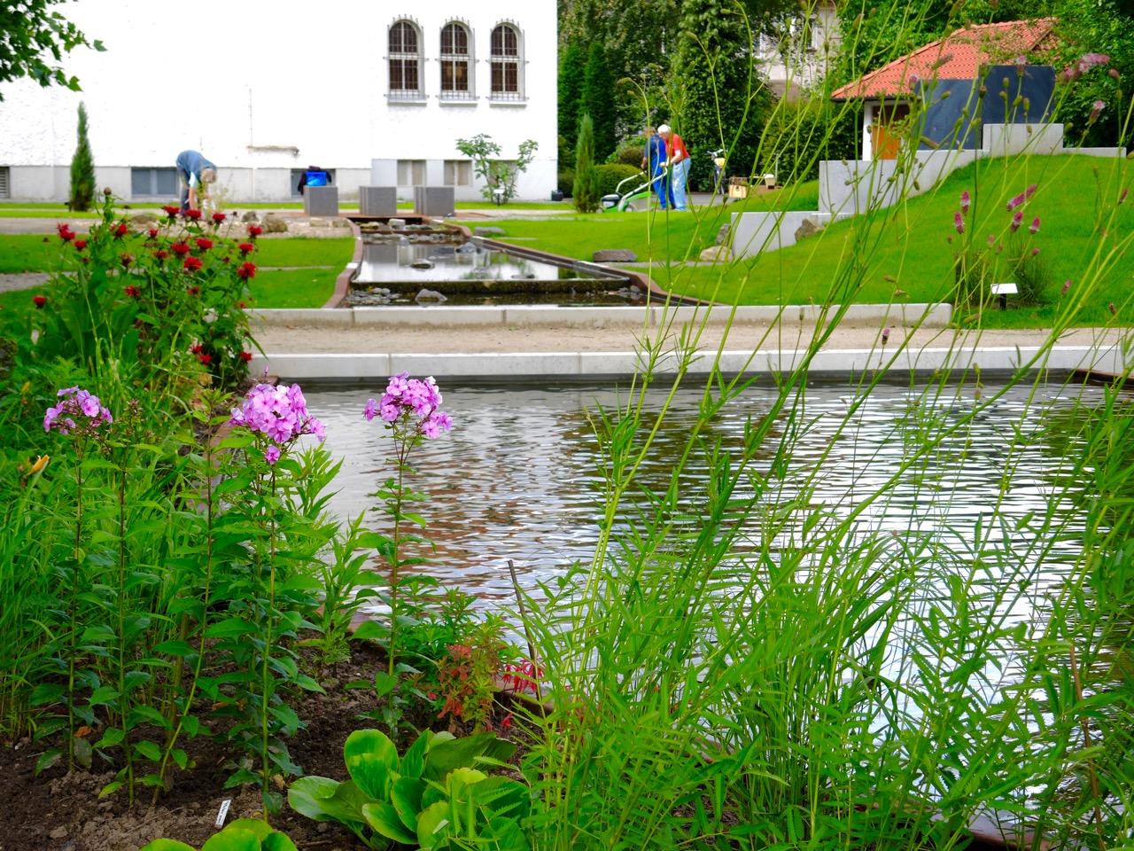 Wasser und seine heilbringende Kraft ist ein Thema im Bibelgarten Bad Rothenfelde
