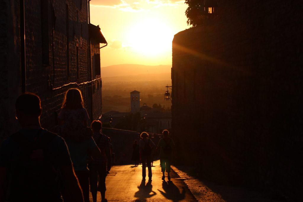 Abenteuer-Pilgerreise nach Assisi