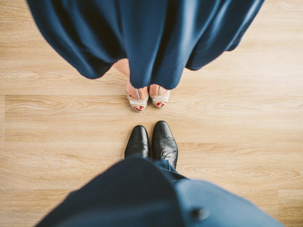Tanzschuhe Mann und Frau