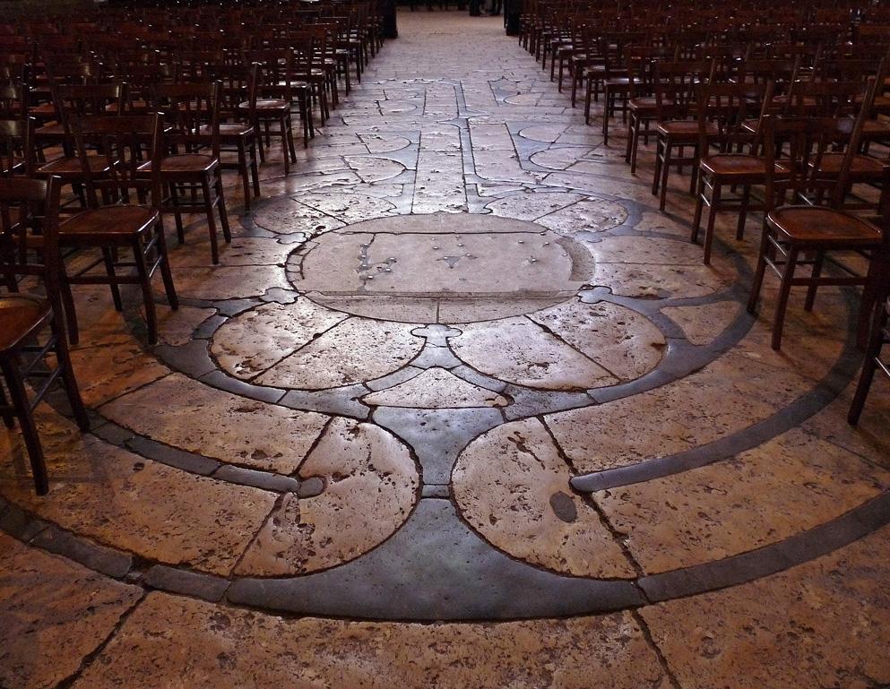 Labyrinth von Chatres
