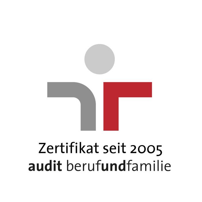 Ausgezeichnet: Familienfreundlicher Arbeitgeber