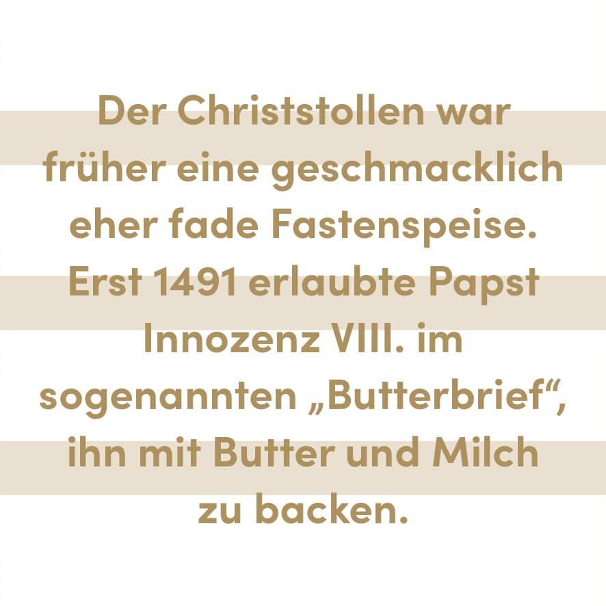 20 – Christstollen