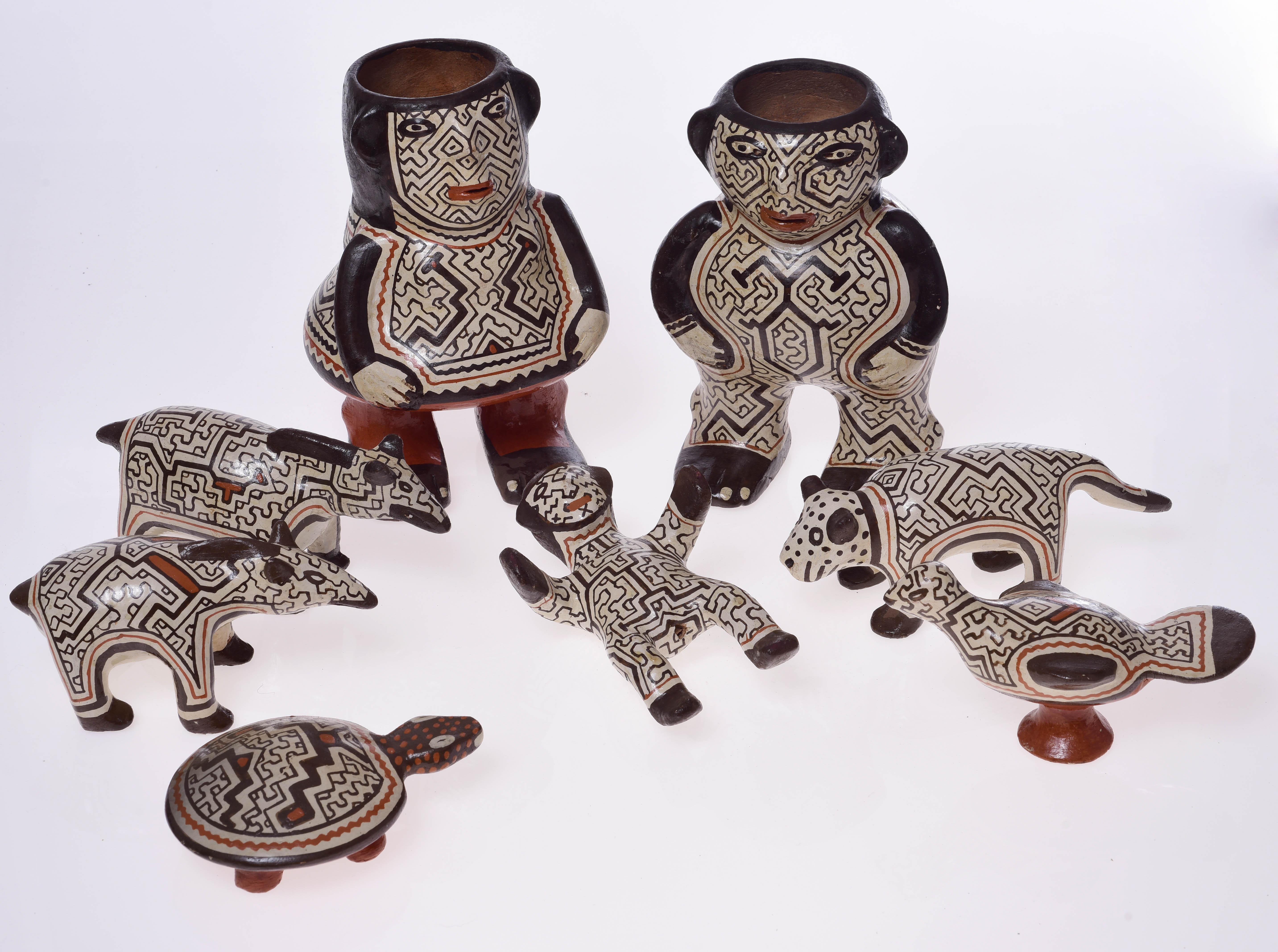 Krippe der Shipibo-Indianer