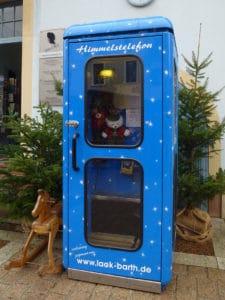 Himmelstelefon Weihnachtsmarkt Speyer