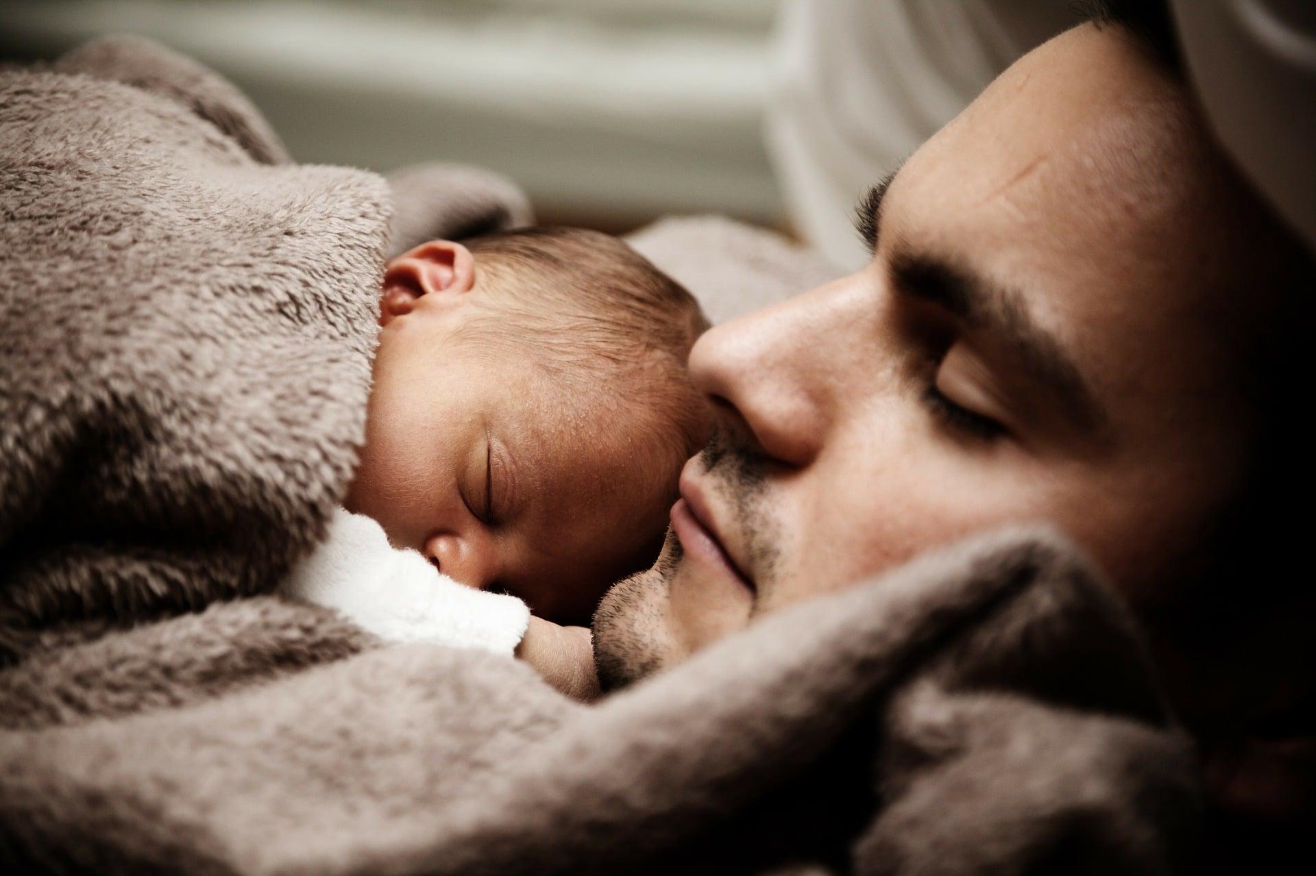 Woche für das Leben, Baby, Vater,